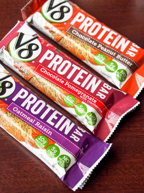 V8-Protein-Bars