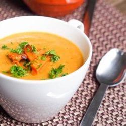 sweet potato parsnip soup