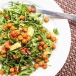 vegan arugula salad