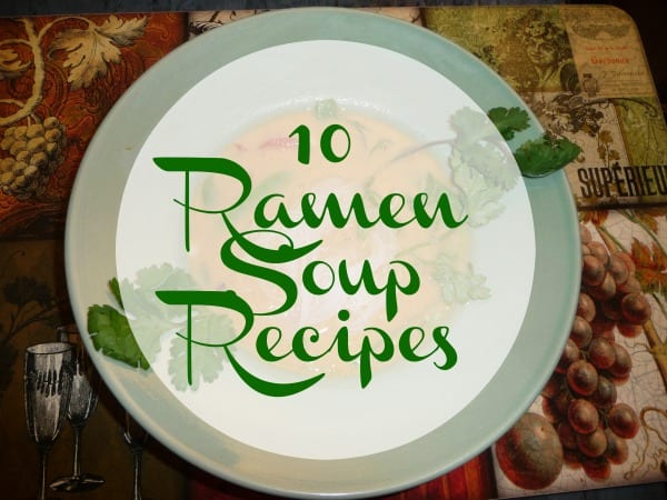 10 Rice Ramen Noodle Soup Recipes