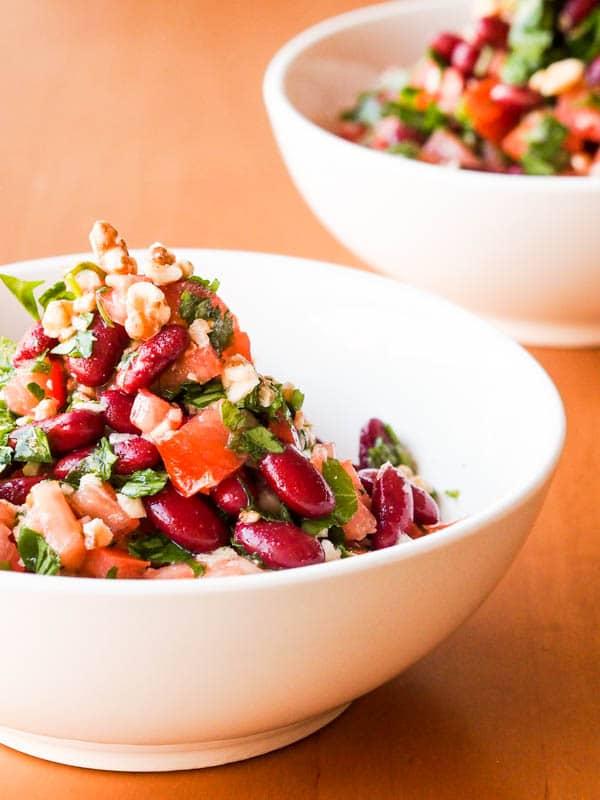 Tomato-Bean-Parsley-Salad-with-Walnuts