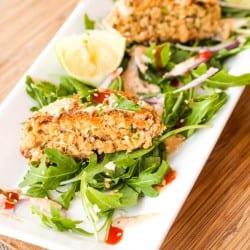 Asian Salmon Cakes Recipe {Gluten-Free, Dairy-Free}