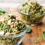 Vegan-Pesto-Brown-Rice-with-Almonds