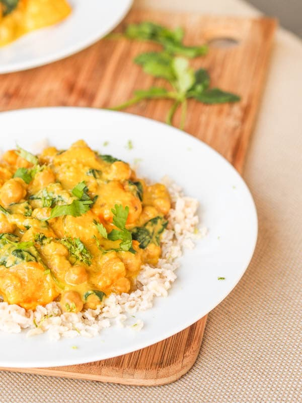 Sweet potato curry Vegan and Gluten-free