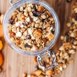 Apricot Granola with Almonds {Gluten-Free, Vegan}