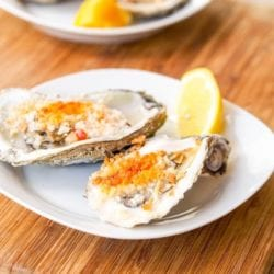 Boiled Oysters Recipe with Spicy Mayo Panko Sauce {Gluten-Free, Dairy-Free}