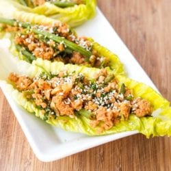 Asian Vegan Lettuce Wraps Recipe {Gluten-Free}