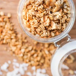 Vegan-Nut-Free-Coconut-Granola-Recipe