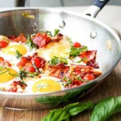 chorizo breakfast skillet