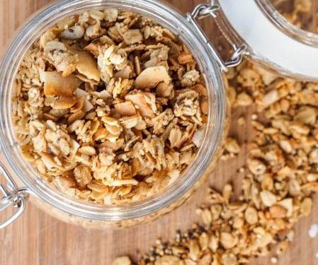 Nut Free Granola Recipe Vegan Gluten Free Refined Sugar Free