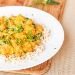 sweet potato curry vegan