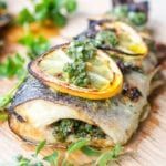 broiled trout pin