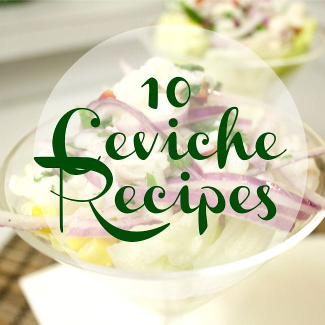 10 Ceviche Gluten Free Recipes