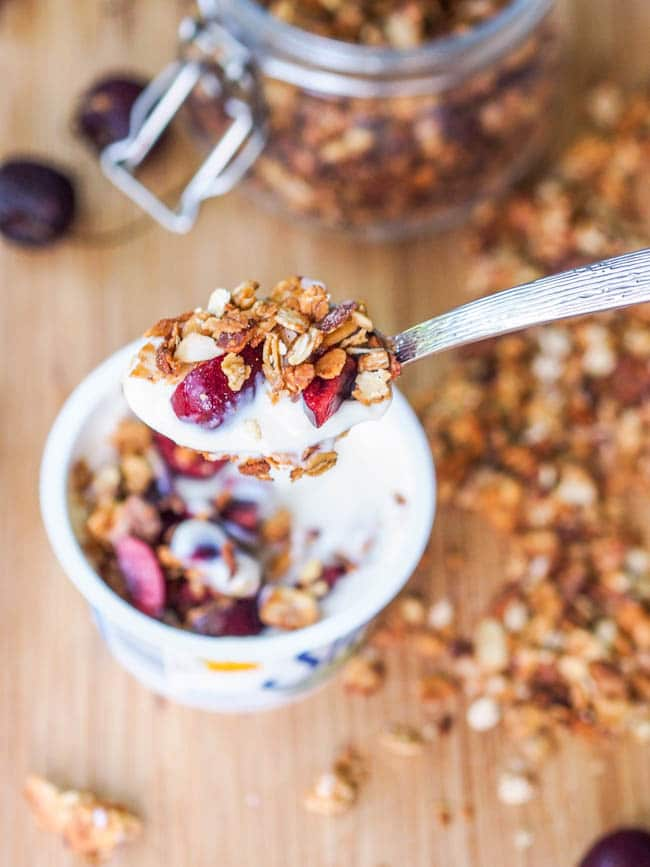 Eight-Ingredient-Almond-and-Coconut-Granola-with-Silk-Dairy-Free-Yogurt-Recipe-GF