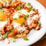 Kimchi Egg Skillet