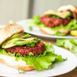 Superfood Vegan Veggie Chia Seed Burger {Gluten-Free}