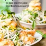 spring roll salad pin