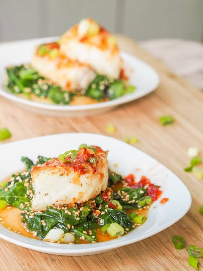 Chilean Sea Bass recipe ready to eat!