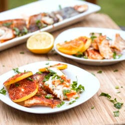 Roasted Branzino with Lemon Paprika {Gluten-Free, Dairy-Free}