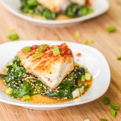 Seared Chilean Sea Bass Recipe {Gluten-Free, Dairy-Free}
