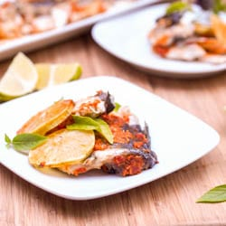 Thai Spiced Roasted Branzini {Gluten-Free, Dairy-Free}