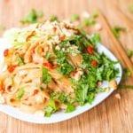 sesame noodles salad