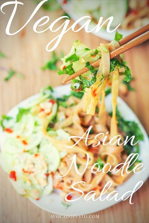 sesame noodles salad pin