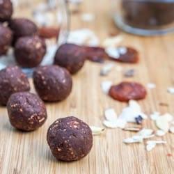 Coconut Almond Balls {Gluten-Free, Vegan}