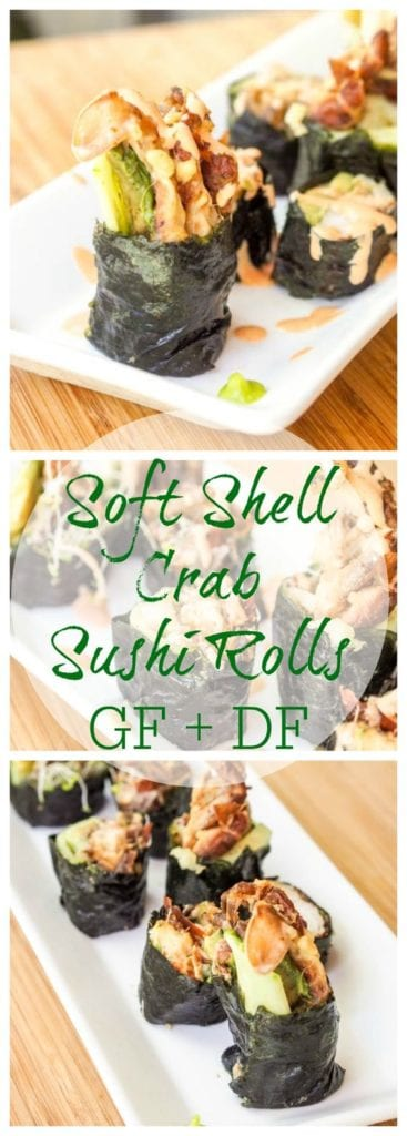 soft shell crab roll pin