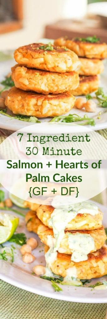 canned salmon cakes pin