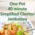chorizo jambalaya
