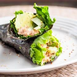 Asian Tuna Wrap {GF, DF}