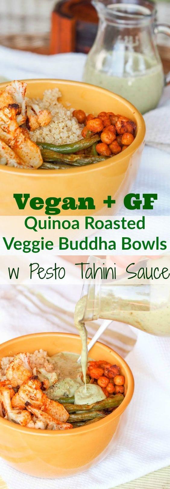 vegan buddha bowls pin