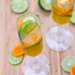 Clementine and Lime Mimosas