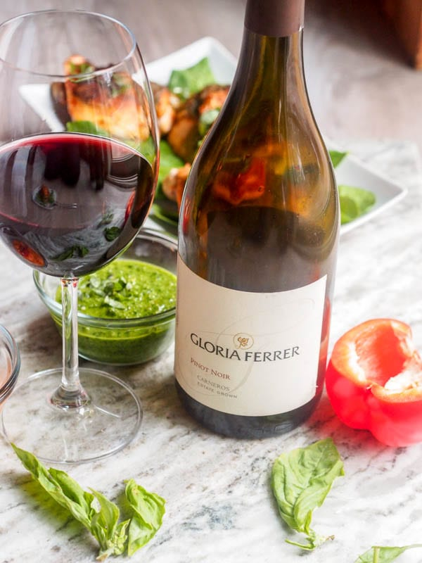 Gloria Ferrer Pinot Noir Wine