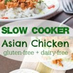 slow cooker asian chicken pin