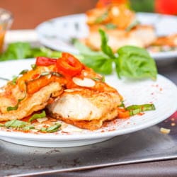Fish with Romesco Sauce Recipe