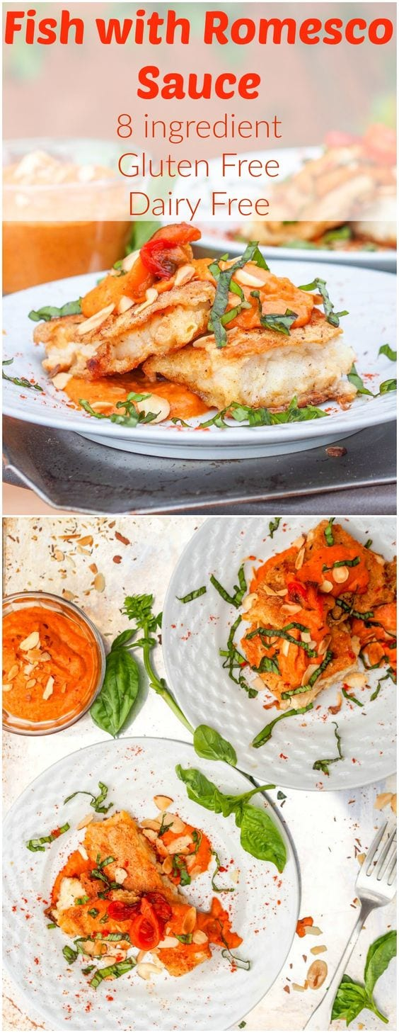 pan seared snapper recipe pin