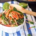 Vegan-Asian stir fry