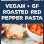 roasted red pepper pasta pin