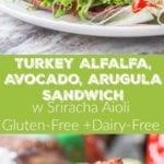 turkey avocado sandwich pin