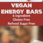 vegan energy bars pin