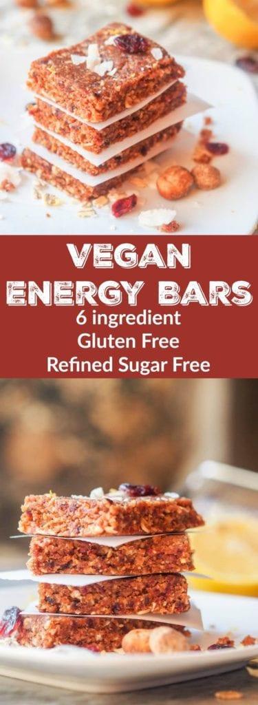 vegan energy bars pin