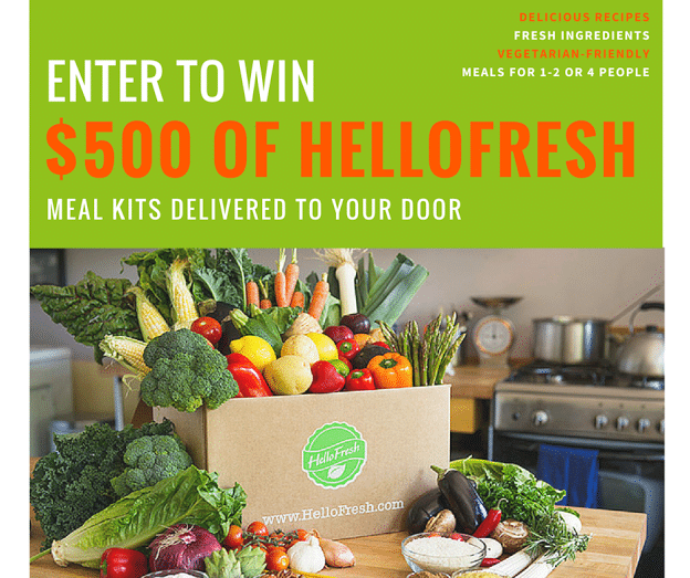 HelloFresh Giveaway - FB Post