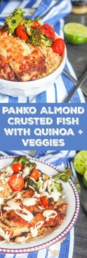 panko crusted fish pin