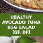 tuna salad with avocado pin
