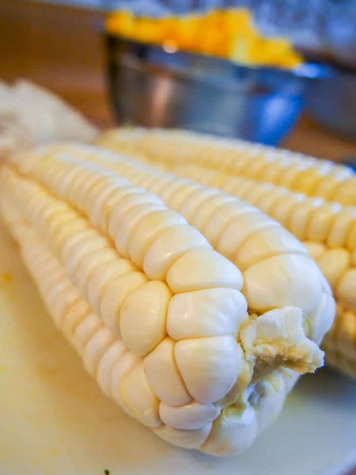 Corn for the Pumpkin Stew
