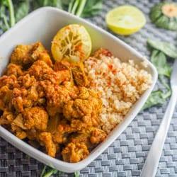 Vegan Cauliflower Stew with Lentils and Squash {GF}