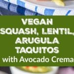 vegan taquitos pin
