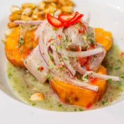 Authentic Peruvian Ceviche with Mahi Mahi {Gluten-Free, Dairy-Free}